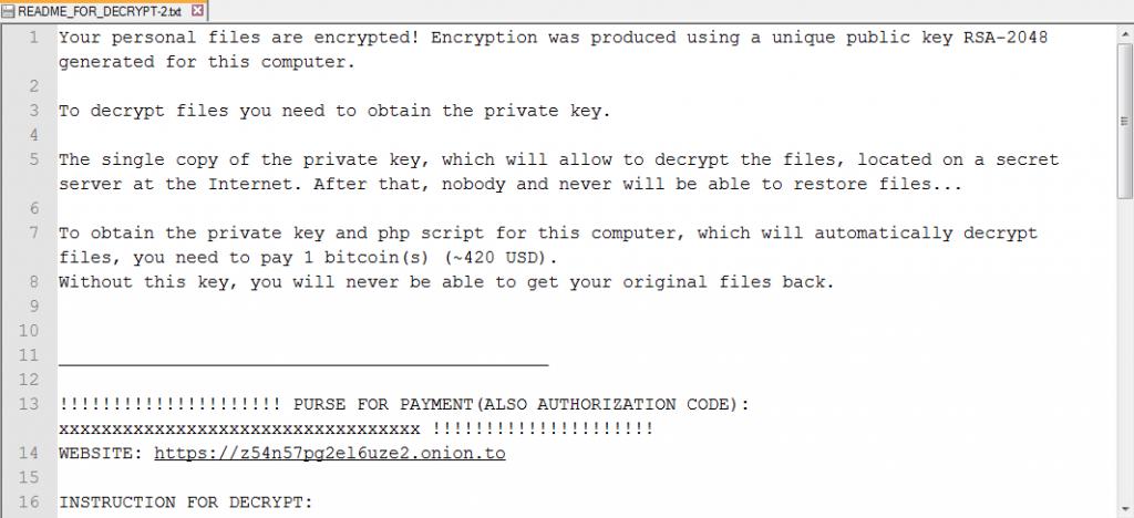 Obsah dokumentu README_FOR_DECRYPT.txt